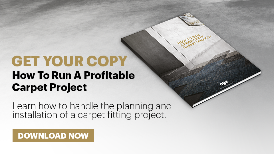 How to run a profitable carpet project