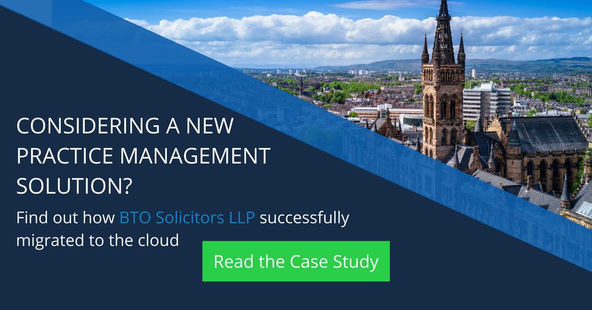 BTO Solicitors LLP Successful cloud migration