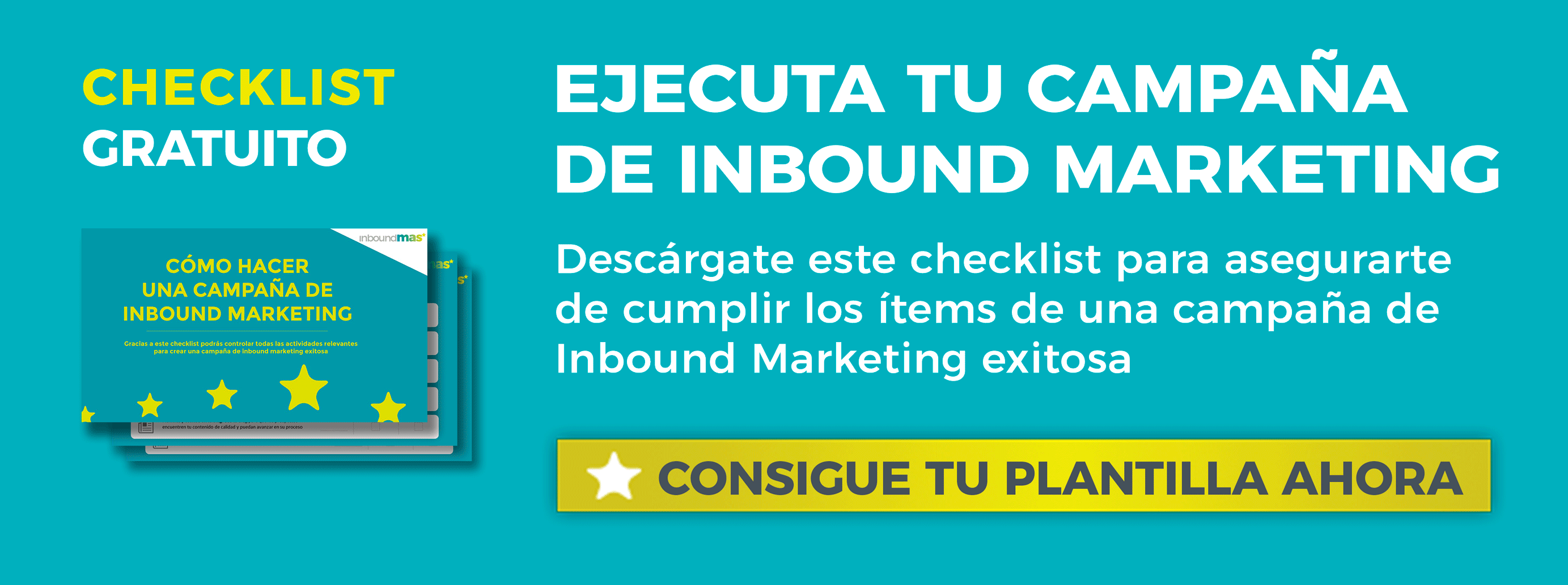 Descarga gratis el checklist de una campaña inbound marketing