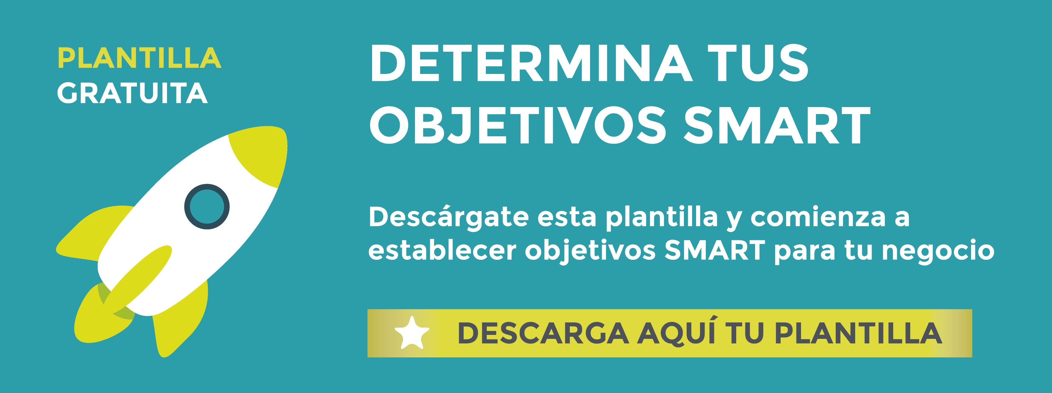 Descarga gratis la plantilla para definir tus objetivos SMART