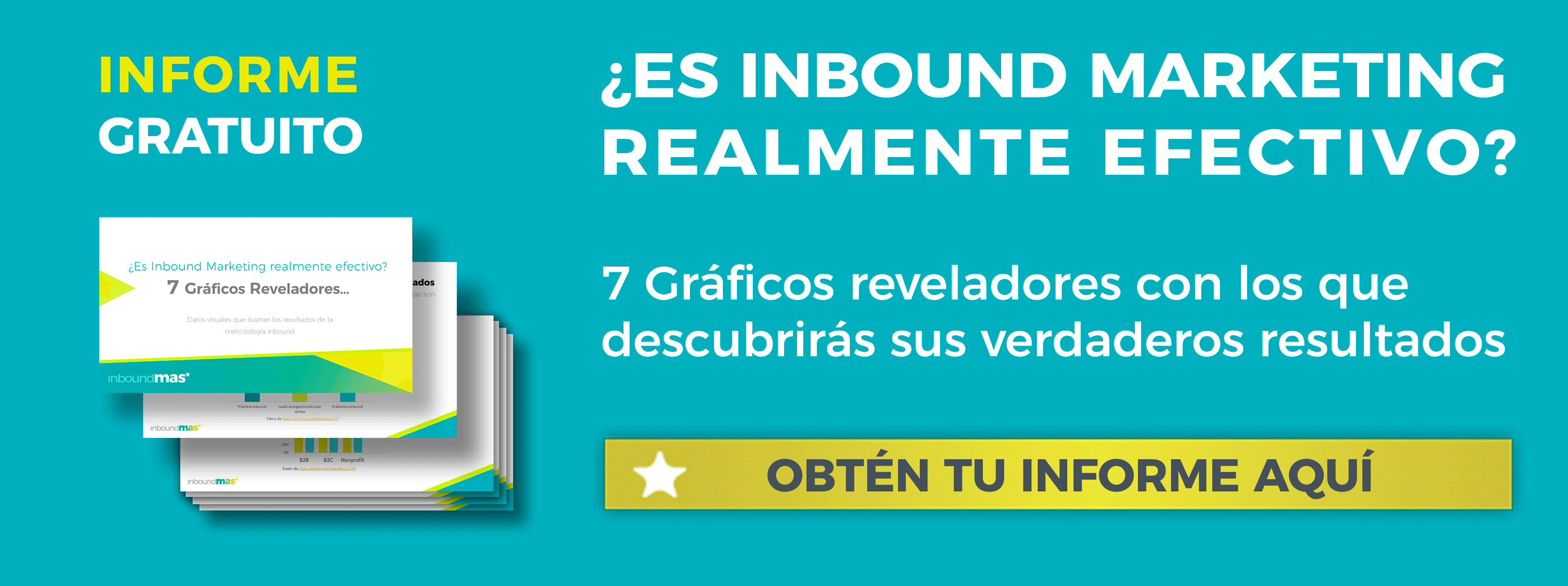 Descarga gratis el informe sobre los resultados del inbound marketing