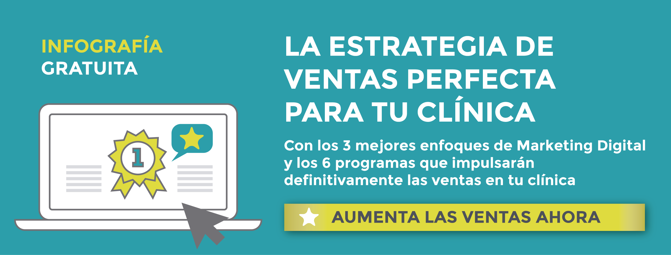 Descarga la guía gratuita para conocer la estrategia de ventas perfecta para tu clínica