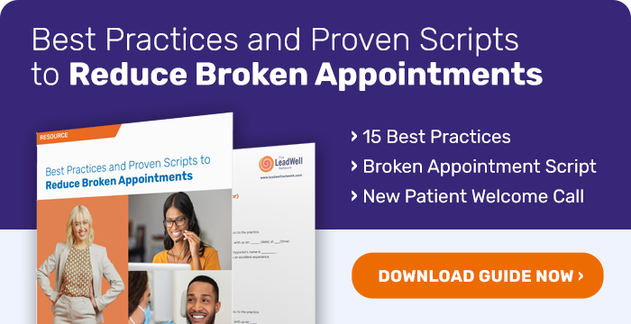 A free guide for your team to reduce broken appointments on the phone.