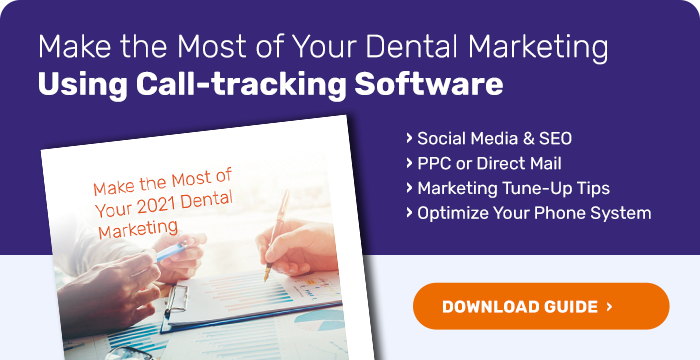 A free guide to using dental call-tracking software to make the most of your dental marketing