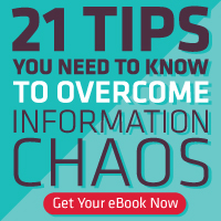 21 tips to overcome information chaos