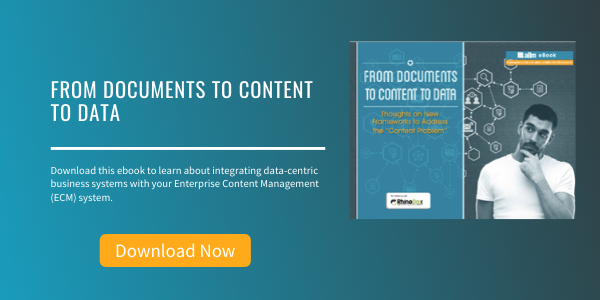 Free eBook: From Documents to Content to Data