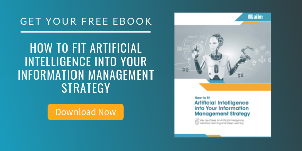 Free eBook: How to Fit Artificial Intelligence into Your Information Management Strategy