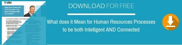 What does it Mean for Human Resources Processes to be both Intelligent AND Connected