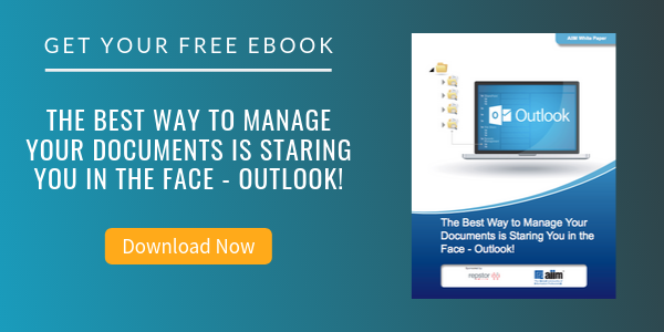 Free eBook: The Best Way to Manage Your Documents is Staring You in the Face - Outlook!