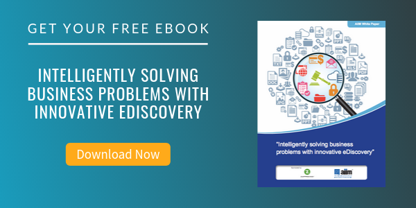 Free eBook: Intelligently Solving Business Problems with Innovative eDiscovery