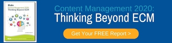 "Click to Download ""Content Management 2020 - Thinking Beyond ECM"""