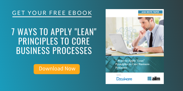 """7 Ways to Apply """"Lean"""" Principles to Core Business Processes"""