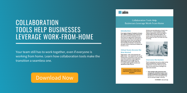 Free Tip Sheet: Collaboration Tools Help Businesses Leverage Work-From-Home