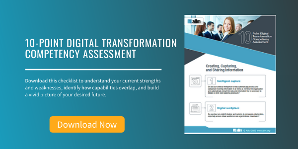 Free eBook: 10-Point Digital Transformation Competency Assessment
