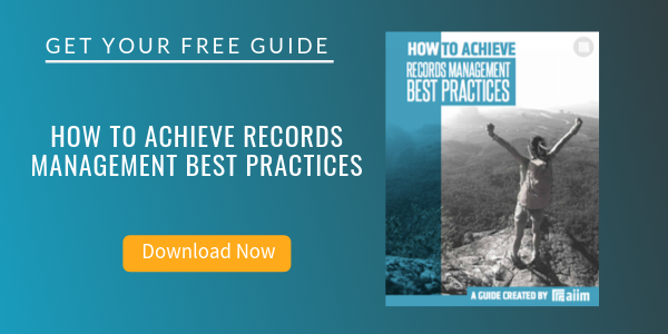 Free Guide: How to Achieve Records Management Best Practices