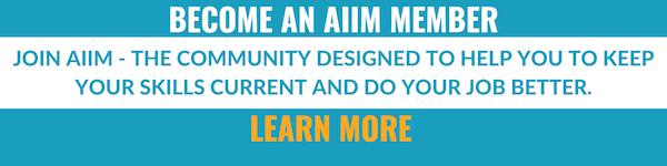 Become an AIIM Member