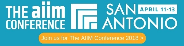 Join us for The AIIM Conference 2018