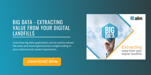 Free eBook: Big Data - Extracting Value from Your Digital Landfills