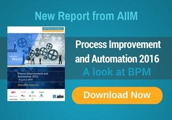 Process Improvement and Automation 2016