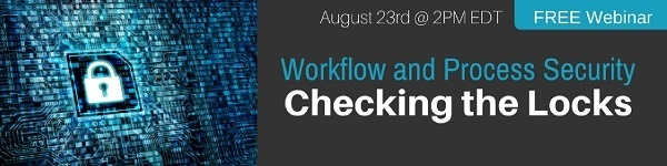 Click to Register for Workflow and Process Security - Checking the Locks