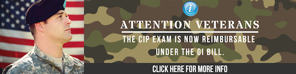 The CIP Exam is now reimbursable under the GI Bill