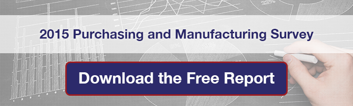 Download the 2015 Purchasing and Manufacturing Survey from Prime Advantage