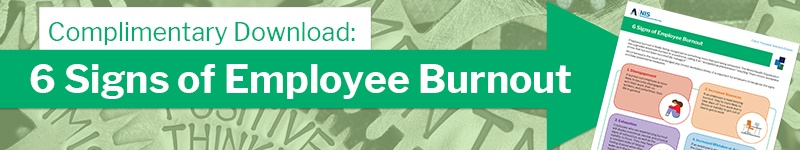 6 signs of employee burnout