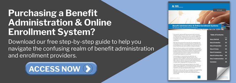 Purchasing a Benefit Administration and Online Enrollment System? Download our guide today.