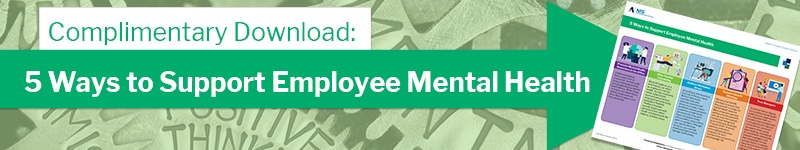 5 ways to support employee mental health