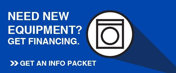 Financing new equipment for a laundromat