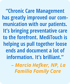 Chronic Care Management Testimonial