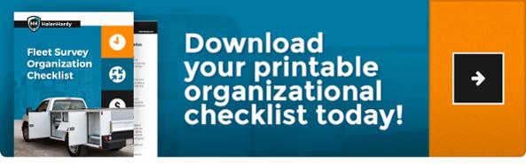 Fleet Oraganization Checklist