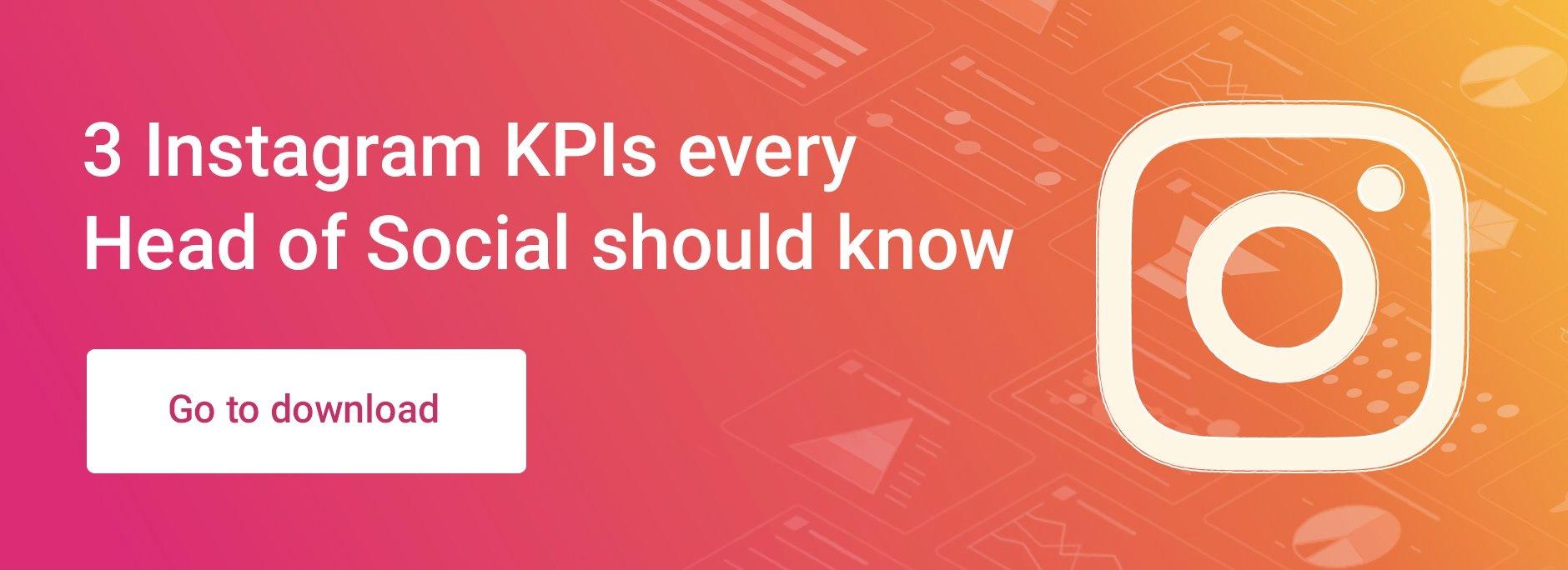 3 KPIs Head of Social