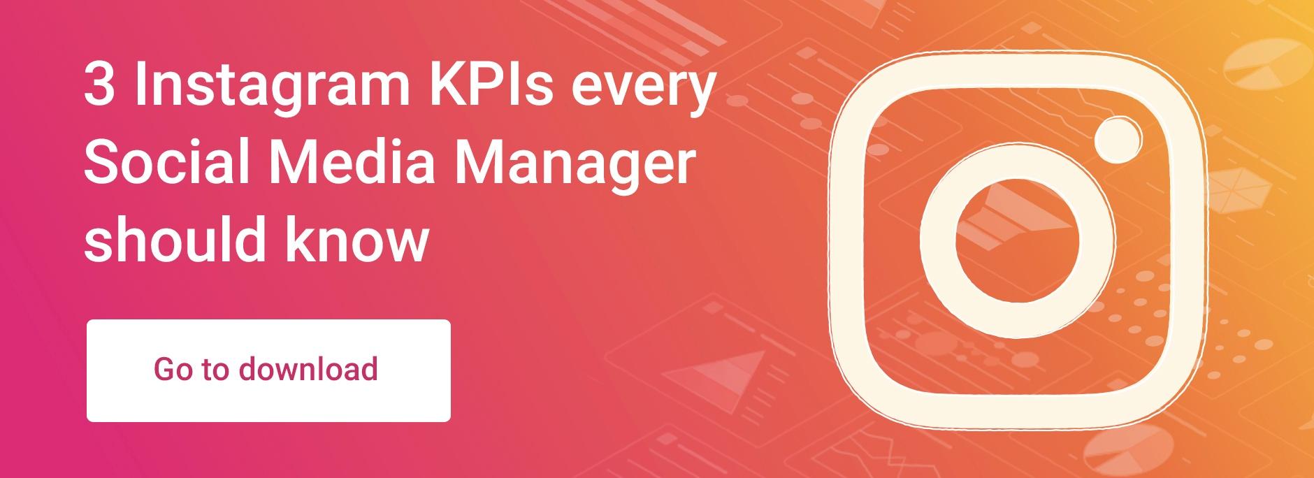 3 KPIs Social Media Manager