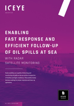 ENABLING FAST RESPONSE AND EFFICIENT FOLLOW-UP OF OIL SPILLS AT SEA WITH RADAR SATELLITE MONITORING