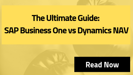 SAP Business One vs Dynamics NAV
