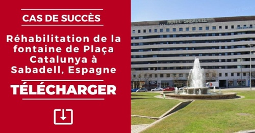 Réhabilitation de la fontaine de Plaça Catalunya à Sabadell - Télécharger