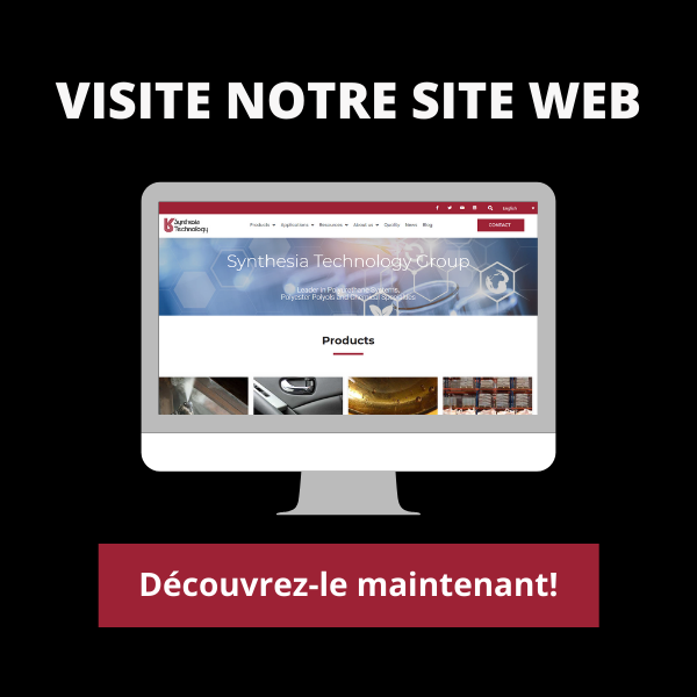 Nouveau site web - Découvrez-le maintenant!