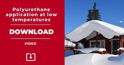 VIDEOS: Polyurethane application at low temperatures