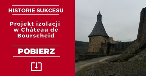 Historie sujcesu: projekt izolacji w chateau de bourscheid