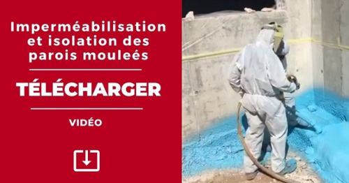 VIDEO: Impermeabilisation et isolation des parois moulees