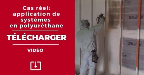 TÉLÉCHARGER. Vidéo de cas réel d'application de systèmes de polyuréthane