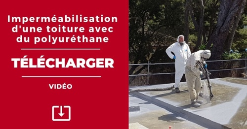 Vidéo: imperméabilisation d'une toiture avec du polyuréthane