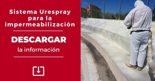 Urespray P-500 para impermeabilización
