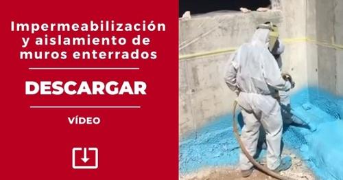 Vídeo- Impermeabilización y aislamiento de muros enterrados