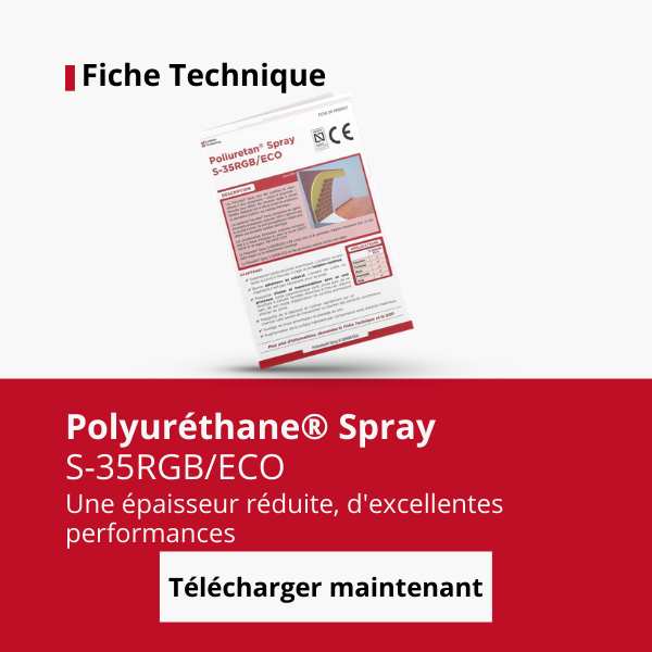 Fiche technique Spray polyuréthane S-35RGB/ECO