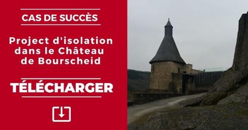 Project d'isolation dans le Chateau de Bourscheid - Télécharger