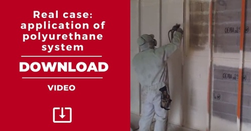 DOWNLOAD. Video of a real case of application of polyurethane systems