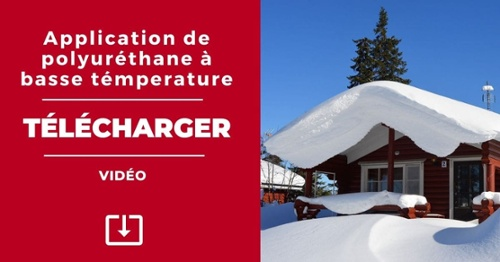 VIDEOS: Application de polyurethane a basse temperature