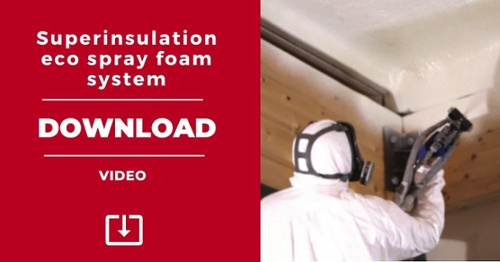 DOWNLOAD. Video superinsulation eco spray foam system